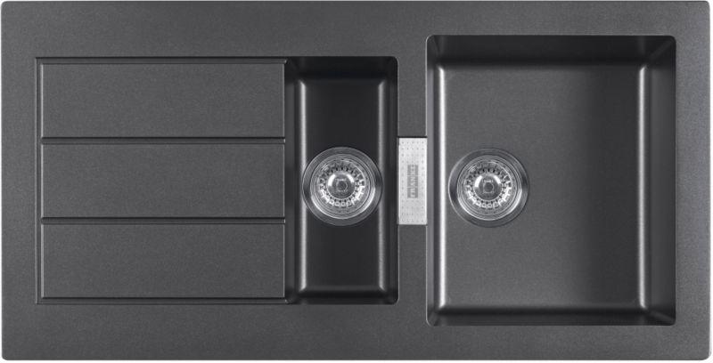 Franke Sirius SID651 Black 1.5 Bowl Sink customer reviews ...
