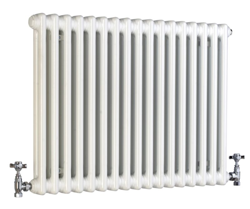 Acova 2 Column Horizontal Radiator White W1042 times H600mm