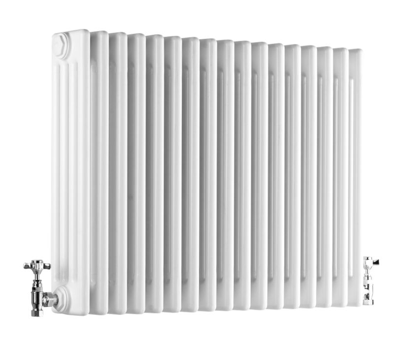Acova 4 Column Horizontal Radiator White W1042 times H600mm