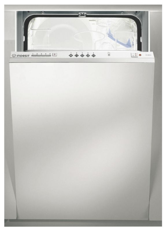 Indesit Integrated Slimline 9 Place Dishwasher White DIS04