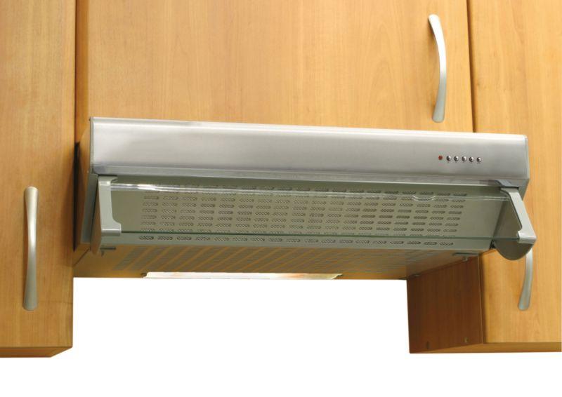 Designair 60cm Visor Hood Stainless Steel VHB60SS