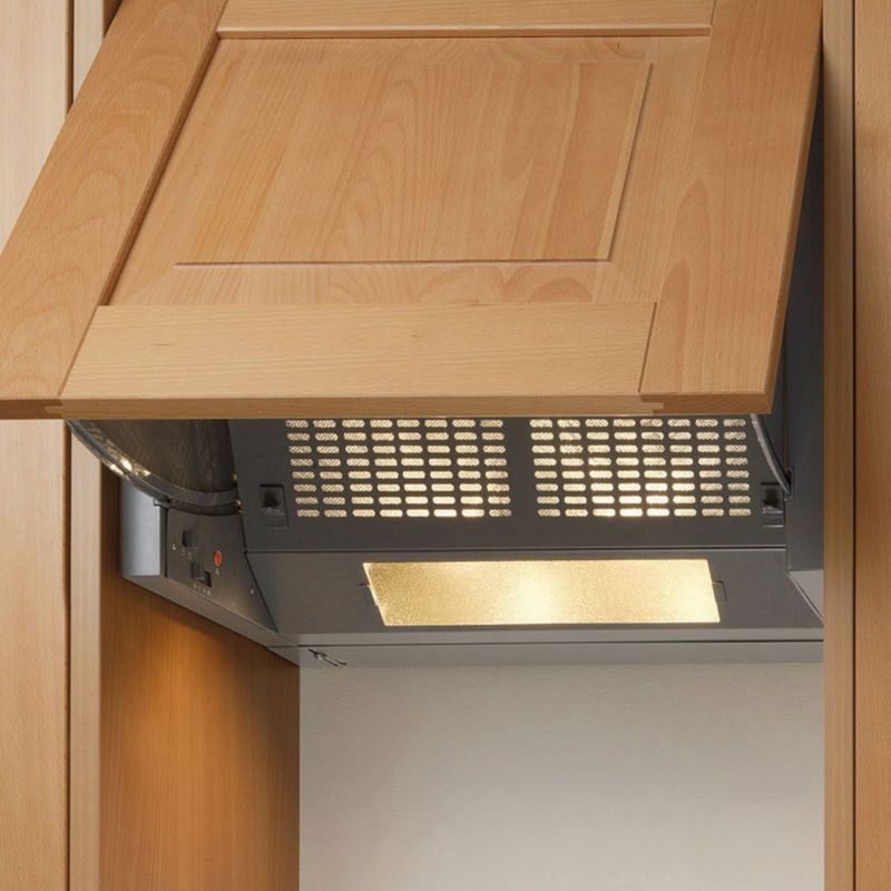 Integrated Cooker Hood ~ B q diy catalogue cooker hoods from at