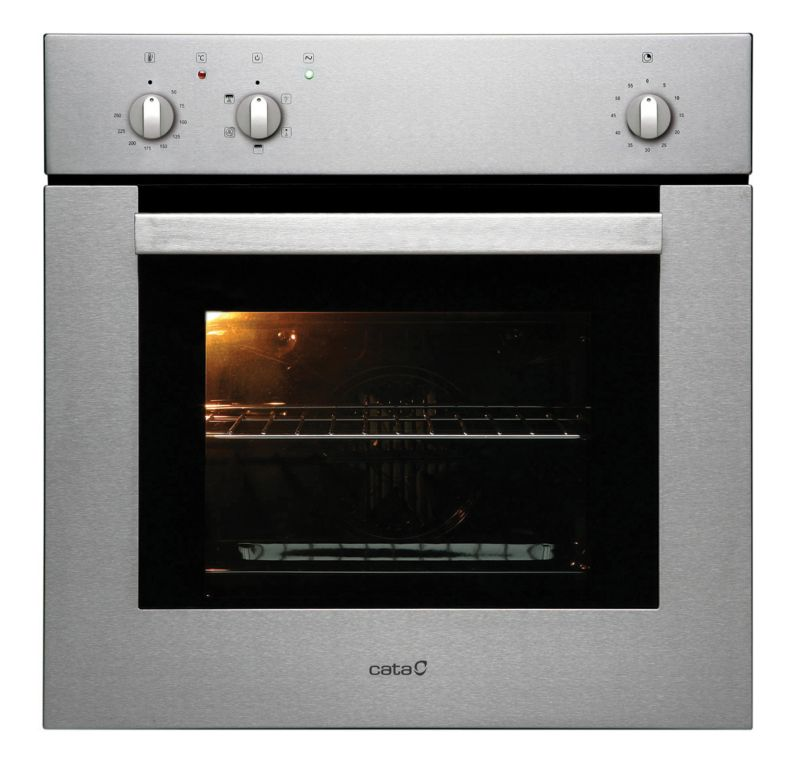 Cata Single Oven Stainless Steel EF60SS (H)595 x (W)595 x (D)553mm