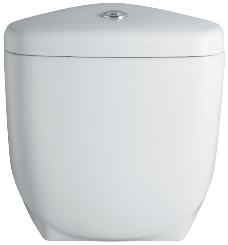 Barcelona Compact Close-Coupled Cistern and Fittings White