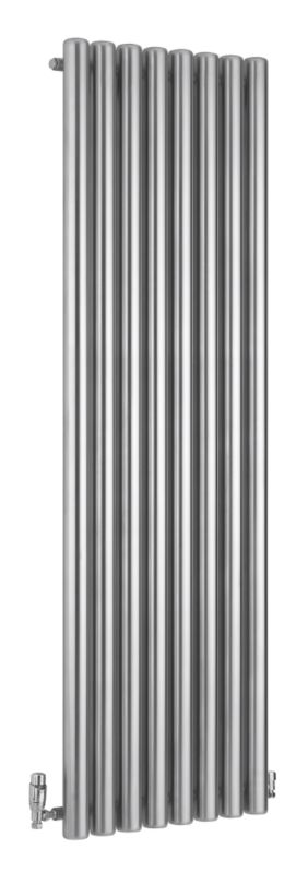 Vulkan Radiator Stainless Steel (H)1800 x (W)585 x (D)116mm