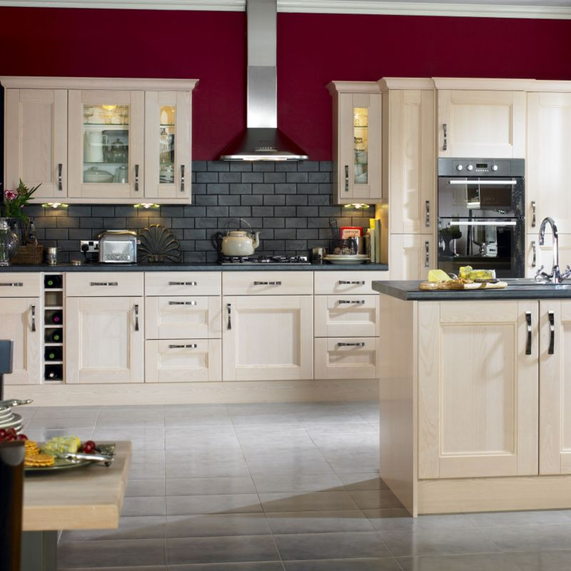 Cashback cooke and lewis solid ash pack j1 tall oven for Kitchens b q cooke and lewis