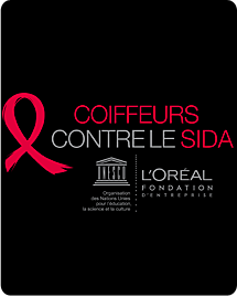 L'Oréal et l'UNESCO fondent le programme Coiffeurs contre le SIDA