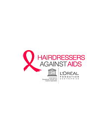 L'Oréal and UNESCO create Hairdressers against Aids