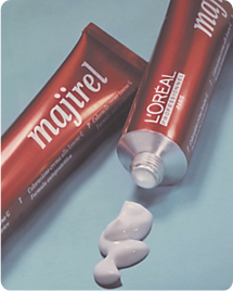 A classic in the making: L'Oréal Professionnel unveils Majirel permanent hair colour.