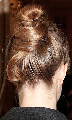 Alexis Mabeille runway hairstyle