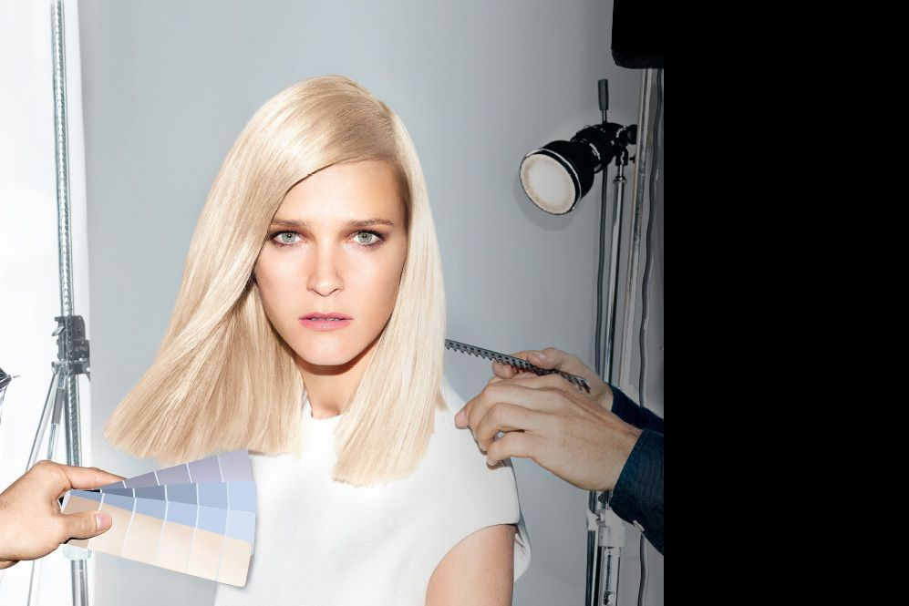 Image of Carmen Klass with a short cool blonde bob
