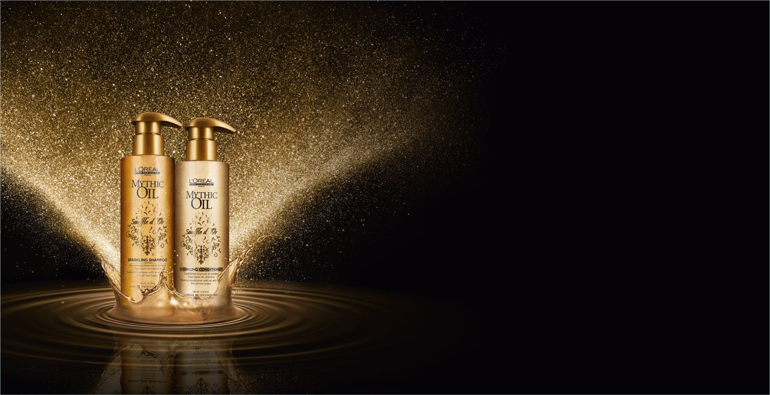 Mythic Oil introduces the new sparkling clear shampoo and conditioner duo from L'Oréal Professionnel