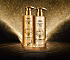 mythic oil souffle d'or gold sparkly shampoo for fine hair with an airy touch
