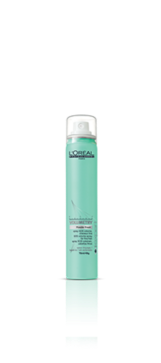 Bottle of Volumetry Powder Fresh SOS Refreshing Hair Spray For Fine, Limp & Lifeless Hair