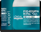 Pro Keratin Refill Haircare bottle