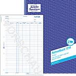 Avery Zweckform Aufmaßbuch 1318 DIN A4 100 Blatt