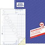 Avery Zweckform Stundennachweis 1773 DIN A4 2 x 40 Blatt