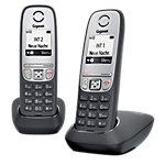 Gigaset DECT Telefon A415 DUO Schwarz