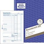 Avery Zweckform Kassenbericht 305 DIN A5 50 Blatt
