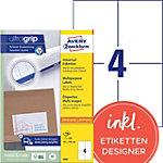 Avery Zweckform Universaletiketten QuickPEEL™ Weiß 105 x 148 mm 100 Blatt