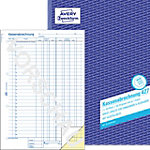 Avery Zweckform Kassenabrechnung 427 DIN A4 2 x 50 Blatt