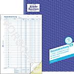 Avery Zweckform Kassenabrechnung 428 DIN A4 2 x 50 Blatt