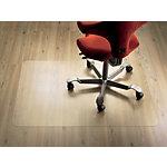 clear style` Bodenschutzmatte Rechteckig, für harte Böden Transparent 134 x 120 cm