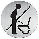Durable Piktogramme WC   Bitte setzen 8,3 cm