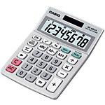 Casio Tischrechner MS 88ECO 10,3 x 14,5 x 3,1 cm Grau
