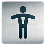 Durable Piktogramme WC Herren 15 cm x 15 cm