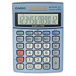 Casio Tischrechner MS 120TER 10,3 x 14,5 x 3,1 cm Blau