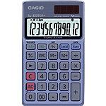 Casio Taschenrechner SL 320TER+ 7 x 11,9 x 0,8 cm Blau