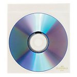 10 Stueck Durable CD DVD Huellen Top Cover Transparent