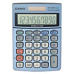 Casio Tischrechner MS 100TER 10,3 x 14,5 x 3,1 cm Blau
