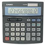 Casio Tischrechner D 20TER 15,1 x 15,8 x 3,2 cm Schwarz