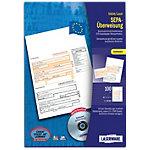 Laserware Bankformulare DIN A4 SEPA Überweisung Bankneutral 100 Stück