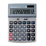 Office Depot Tischrechner AT 814 13,25 x 18,4 x 3,4 cm Silber