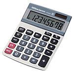 Office Depot Tischrechner AT 812E 10,25 x 14,35 x 3,05 cm Silber