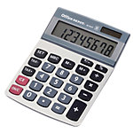 Office Depot Tischrechner AT 812T 10,25 x 14,35 x 3,05 cm Silber