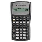 Texas Instruments Schulrechner BA II Plus 8,2 x 15,5 x 1,9 cm Schwarz