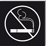 Sigel Piktogramm No smoking 85 x 85 mm