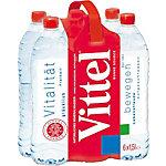Vittel Mineralwasser 200380 Inhalt 6 x 1,5 Liter