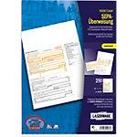 Laserware Bankformulare DIN A4 SEPA Überweisung Bankneutral 250 Stück