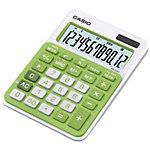 Casio Tischrechner MS 20NC 10,45 x 14,95 x 2,2 cm Grün