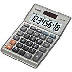 Casio Tischrechner MS 80B 10,3 x 14,7 x 3 cm Silber