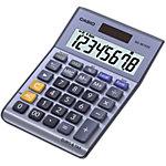 Casio Tischrechner MS 88TERII 10,3 x 14,5 x 3,1 cm Grau