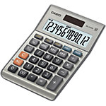 Casio Tischrechner MS 120BM 10,3 x 14,7 x 2,9 cm Grau