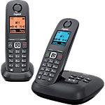 Gigaset DECT Telefon A540A DUO Schwarz
