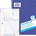 Avery Zweckform Lieferschein 723 DIN A5 2 x 50 Blatt