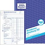 Avery Zweckform Reisekostenabrechnung 743 DIN A5 50 Blatt